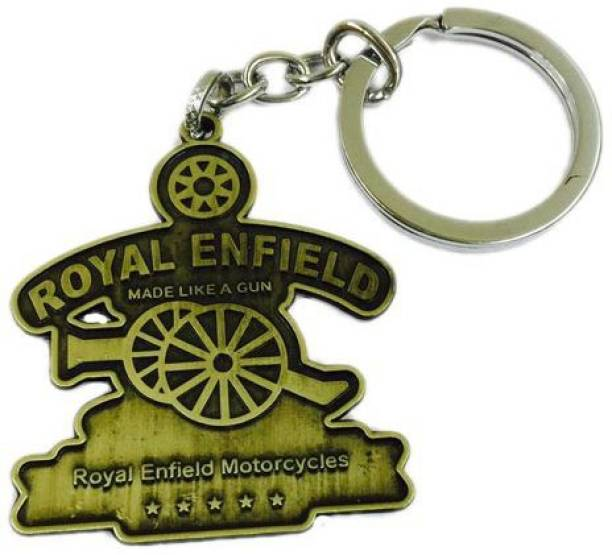 Aura Royal Enfield Full Metal Double Sided Imported Key Chain eeda63119f