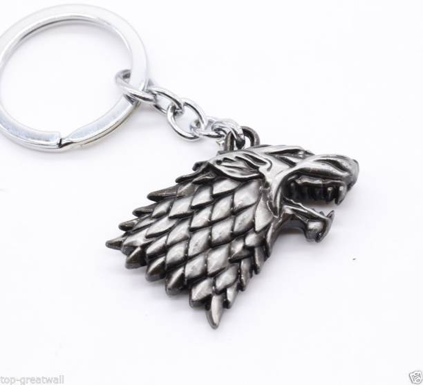 Optimus traders HBO Game of Thrones House Stark Head 3D Key Chain