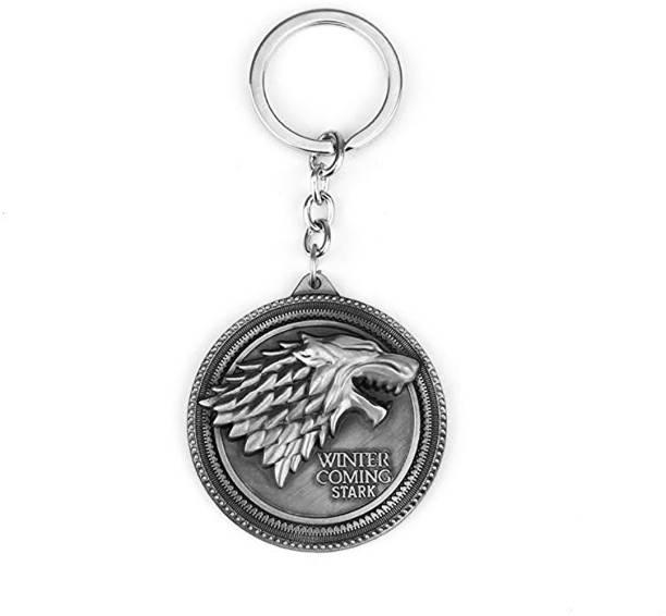 MK Game Of Thrones Got Music Of Ice And Fire Screaming Baratheon Greyjoy Tully Arryn Martel Key Chain
