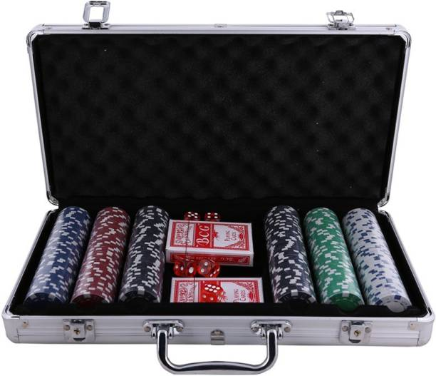 Dolphin Gallery 300 Pcs Poker Set