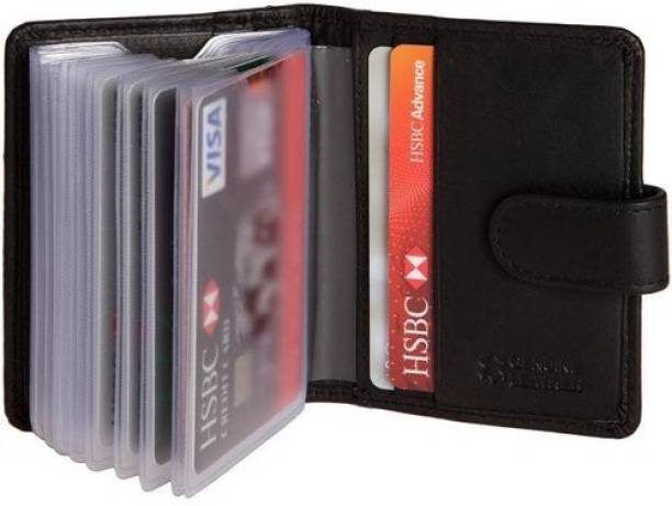 Card holders buy card holders online at best prices in india hide sleek soft leather credit 20 card holder reheart Choice Image