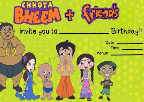 Birthday invitation card buy birthday invitation card online at power plus birthday invitation on metallic sheet invitation card filmwisefo