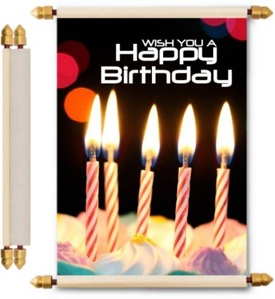 Lolprint Birthday Scroll Greeting Card