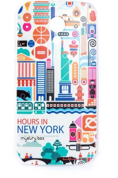 Mystry Box Back Cover for Motorola Moto G (2nd Generation)