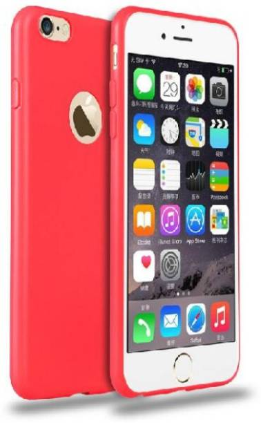 Sajni Creations Back Cover for Apple iPhone 6 Red, Silicon