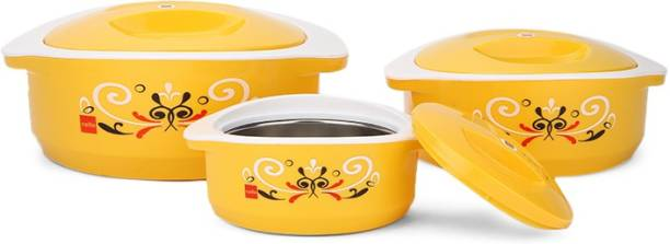 Cello Hot Meal Insulated Pack of 3 Thermoware Casserole Set