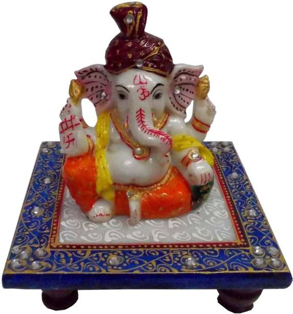 Shiva Arts Stoneware Pooja Chowki