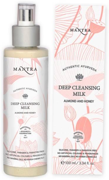 MANTRA Almond & Honey Deep Cleansing Milk