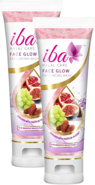 Iba Halal Care Face Glow Exfoliating Wash (Pack of 2)