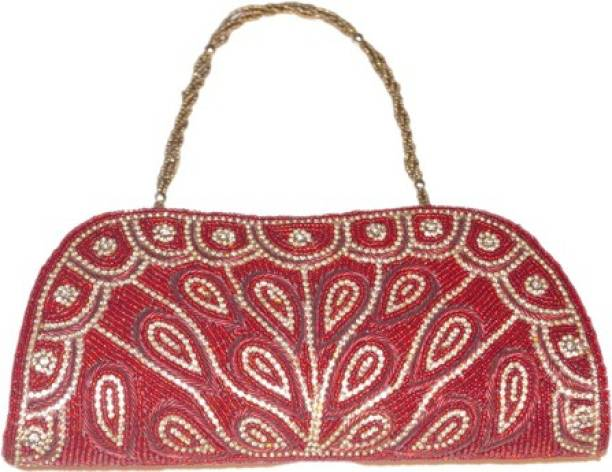 Asian Aura Red Clutch