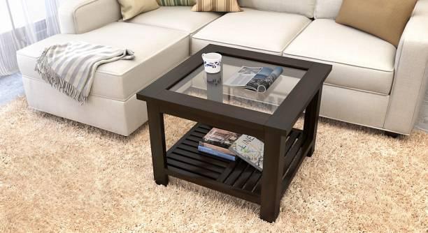 Urban Ladder Sheesham Wood Solid Wood Coffee Table