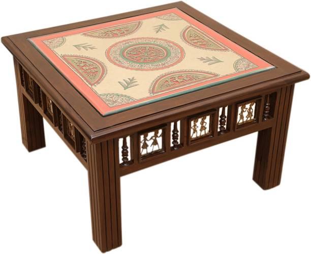6af510dff ExclusiveLane Teak Wood Solid Wood Coffee Table