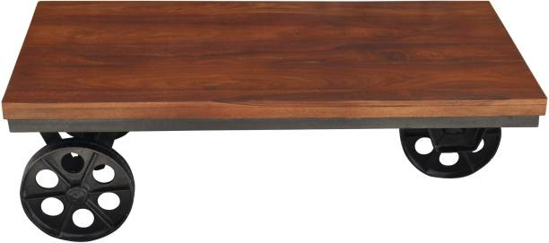 THE ATTIC Jack Solid Wood Coffee Table