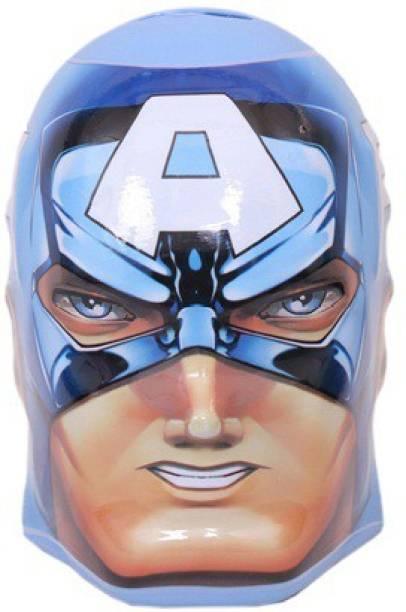 MARVEL Avengers Captain America Kids Coin Bank