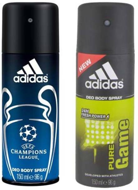 Adidas Champions League and Pure Game Combo Set