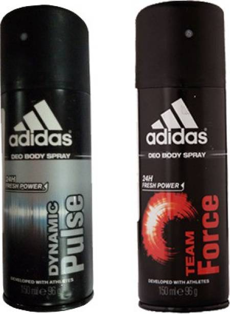 Adidas Dynamic Pulse and Team Force Combo Set