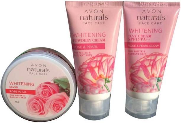AVON Naturals Face Care Whitening Combo