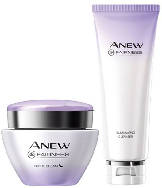 AVON Fairness Night Cream + Cleanser
