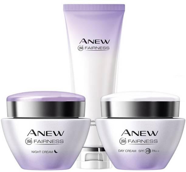 AVON Fairness Day & Night Cream + Cleanser