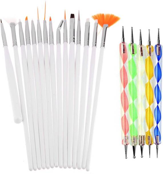 Lifestyle You 20pcs Nail Art Design Dotting Painting Drawing UV Polish Brush Pen Tools Set