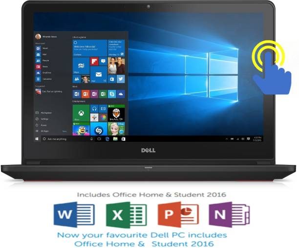 Dell Inspiron 7000 Core i5 6th Gen    8  GB/1 TB HDD/8  GB SSD/Windows 10 Home/4  GB Graphics  7559 Gaming Laptop