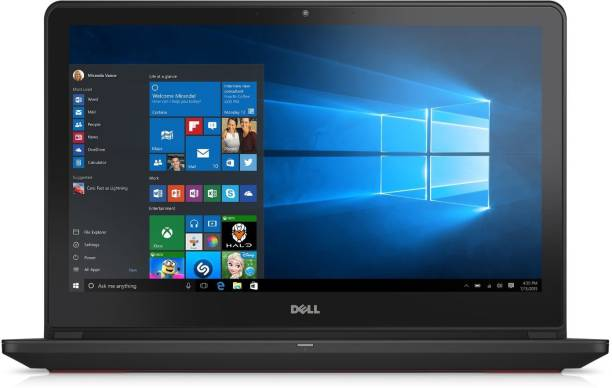 Dell Inspiron 7000 Core i7 6th Gen    8  GB/1 TB HDD/8  GB SSD/Windows 10 Home/4  GB Graphics  7559 Gaming Laptop