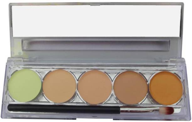 Kiss Beauty PERFECT COVER CONTOUR PALETTE IN NATURAL COLOUR FOR FAIR SKIN Concealer