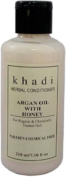 Khadi Herbal Argan with Honey Conditioner (Parben Chemical Free )