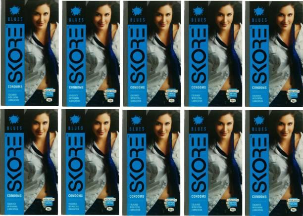 SKORE Blues 100pc (10X10) Condom