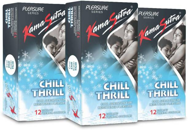 Kamasutra Chill Thrill Monthly Combo Condom