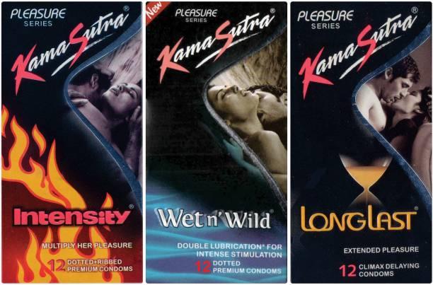 Kamasutra Intensity, Wet n Wild, Dotted Condom