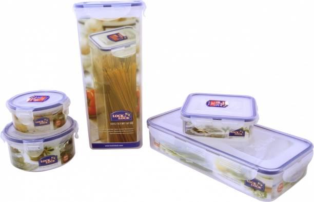 Lock & Lock Classic Food Container Set Of 5 - 430 ml, 300 ml,