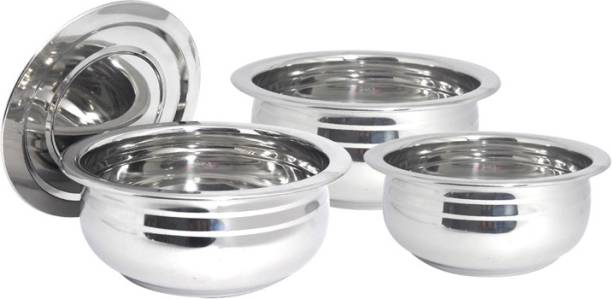 bartan hub Induction Bottom Cookware Set