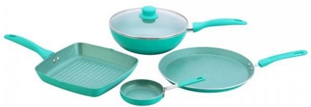 WONDERCHEF Celebration Blue Induction Bottom Cookware Set