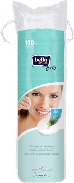 Bella Cotton Cotton Pad Oval With Alovera