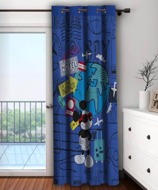 Disney 223 Cm 7 Ft Polyester Door Curtain Single