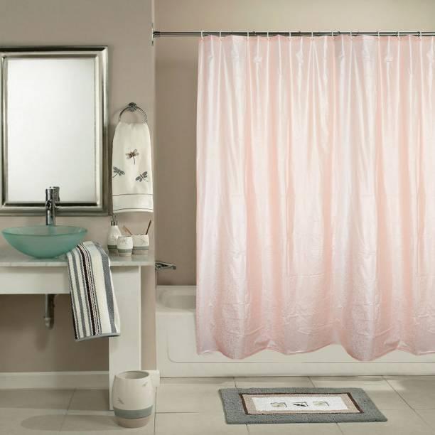 Katwa Clasic 198 Cm 6 Ft PVC Shower Curtain Single