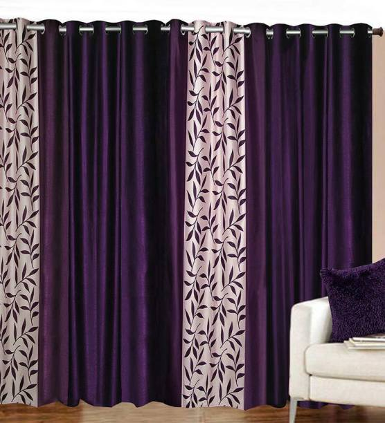 ATOZ Home Decor 152 Cm 5 Ft Polyester Window Curtain Pack Of 4