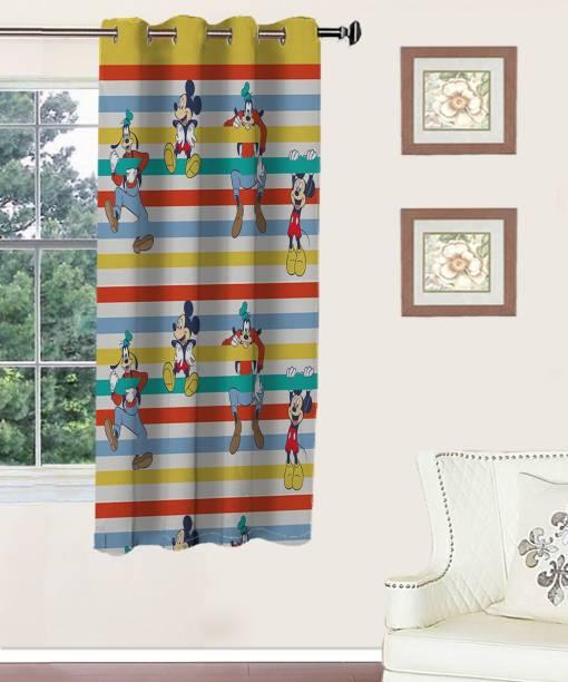 Disney 147 Cm 5 Ft Polyester Window Curtain Single