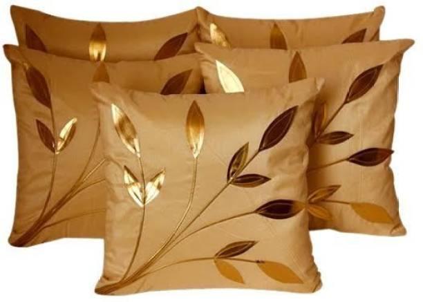 Ridhima Creations Self Design Cushions Cover