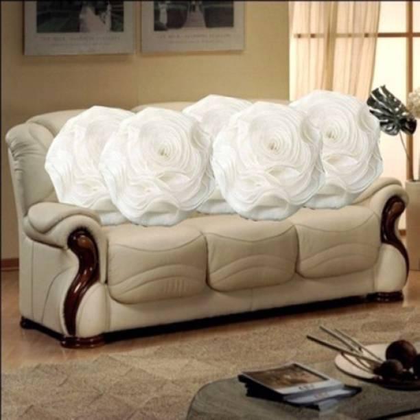 MS Enterprises Floral Cushions Cover