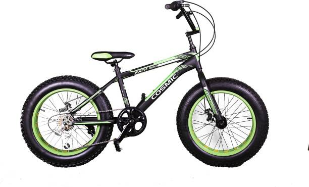 COSMIC Fatso 7S 20 Black&Green 20 T BMX Cycle