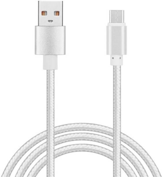 Digishopi Nylon Braided Micro USB Data Cable For Moto G Turbo Edition 1.5 m Micro USB Cable