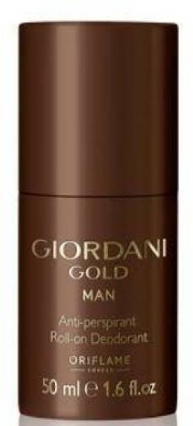 Oriflame Sweden Giordani Gold Man Anti-perspirant Roll-On Deodorant Deodorant Roll-on  -  For Men