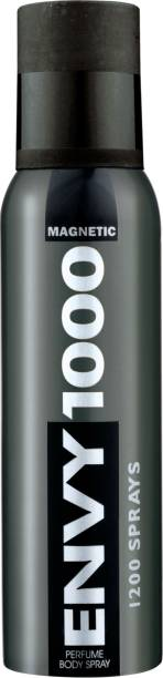VANESA Envy 1000 Magnetic Deodorant Spray  -  For Men