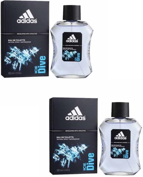 ADIDAS Ice Dive EDT Combo Deodorant Spray  -  For Men