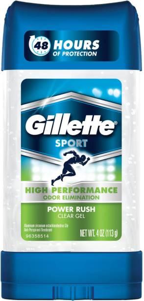 GILLETTE Sport Power Rush Deodorant Gel  -  For Men