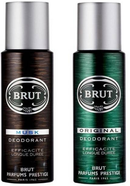BRUT Musk & Original Deodorant Spray  -  For Men