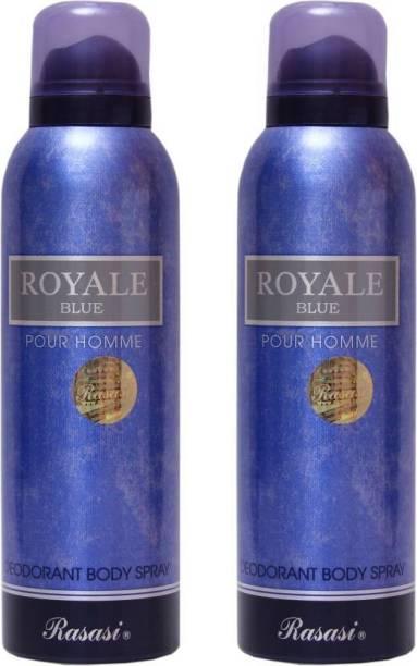 Rasasi royal blue Deodorant Spray - For Men & Women