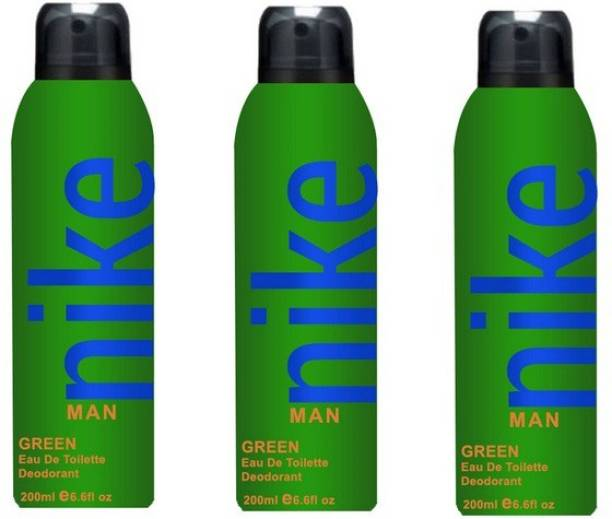 NIKE Green Deodorant Spray  -  For Men
